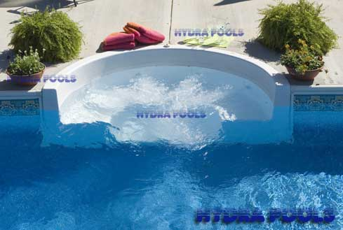 Hydra Inground Swimming Pools Chuck Left 15x34 Kidney