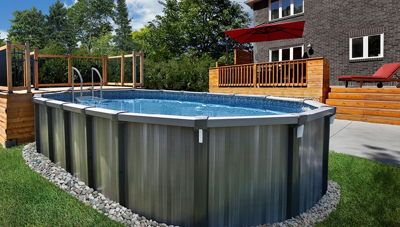 Saltwater 18x33 Oval Swimming Pool