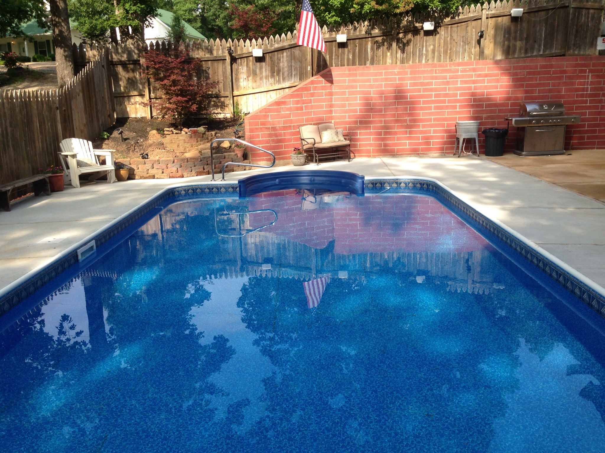 Hydra pools custom 16x32 rectangle pool for Custom inground swimming pools
